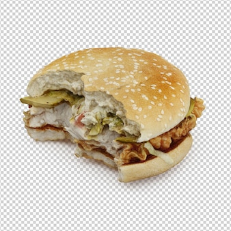 Fast food isométrico