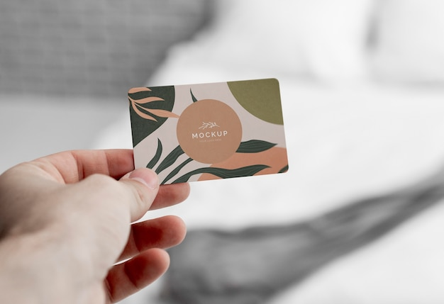 Fechar cartão de visita