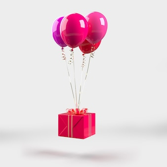 Feliz dia dos namorados - be my valentine decorations mockup