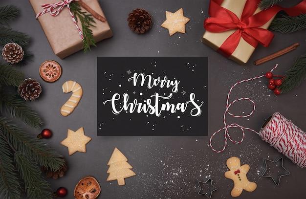 Feliz natal cartão