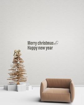 Feliz natal decoração design