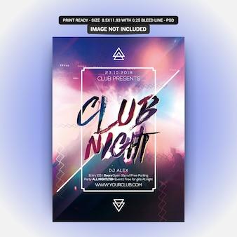 Festa da noite do clube