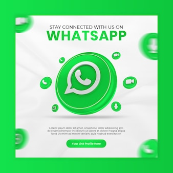 Fique conectado conosco no modelo whatsapp