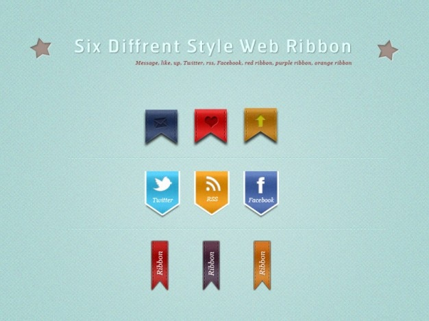 Fita web elegante