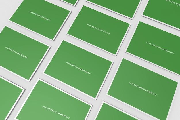 Flyer modelo de cartão postal