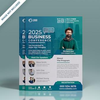 Folheto da conferência