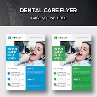 Folheto de assistência odontológica