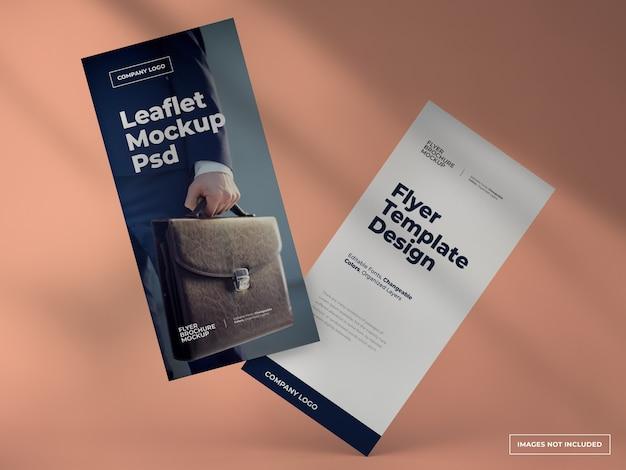 Folhetos e modelos de panfletos