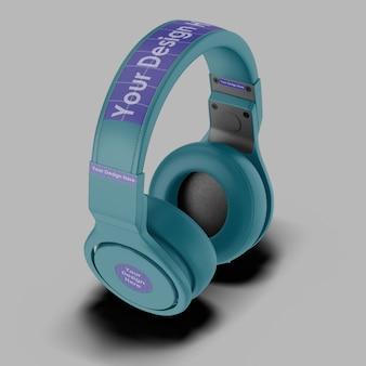 Fone de ouvido 3d mockup