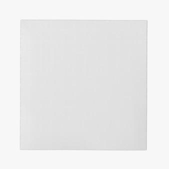 Forma de tapete quadrado isolado