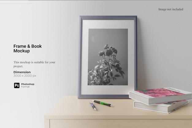 Frame book mockup