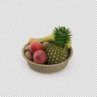 Frutas isométricas