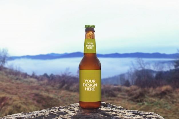 Fundo de cerveja natureza