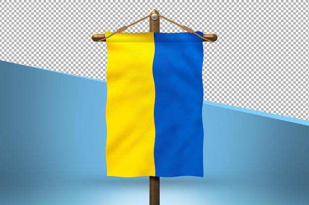 Fundo de desenho de bandeiras de suspensão da ucrânia