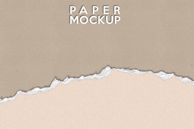 Fundo de maquete de papel