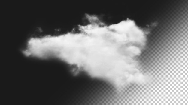 Fundo de nuvem isolado 3