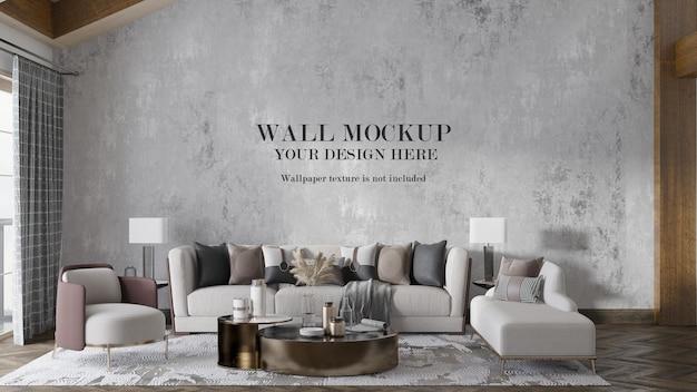 Fundo de parede interior elegante