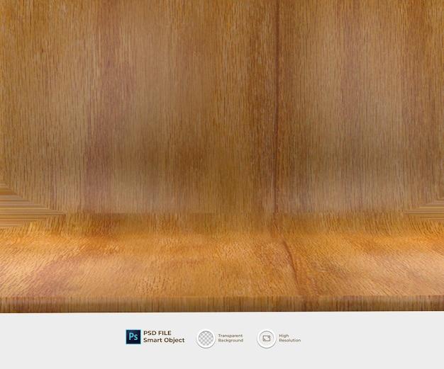 Fundo de piso de madeira