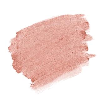 Fundo de traçado de pincel rosa