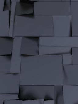 Fundo escuro de formas geométricas