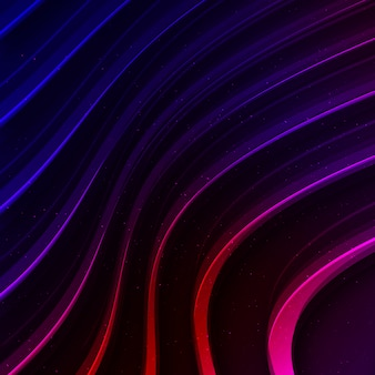 Fundo ondulado multicolorido