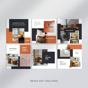 Furniture do instagram post banner
