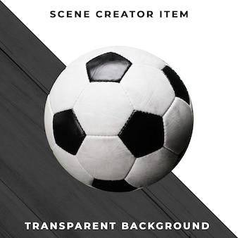 Futebol em fundo transparente