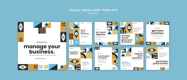 Gerencie sua postagem de mídia social empresarial