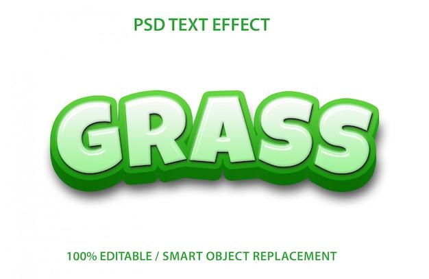 Grama de efeito de texto editável
