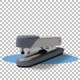 Grampeador isolado em fundo transparente