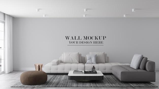 Grande maquete de parede para suas texturas