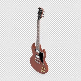 Guitarra eletrônica isométrica