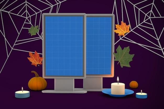 Halloween billboard