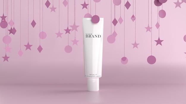 Hidratante de cuidados com a pele premium cosméticos.