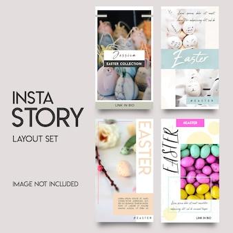 Histórias de instagram de mídia social