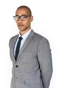 Homem de negócios de ascendência africana