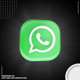 Ícone de aplicação do whatsapp para composição