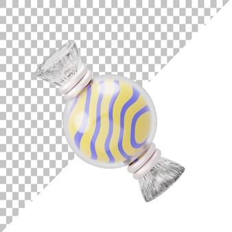 Ilustração 3d candy