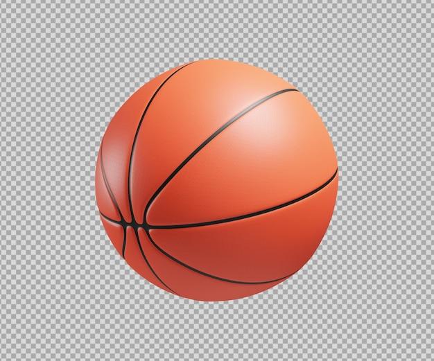 Ilustração 3d de basquete