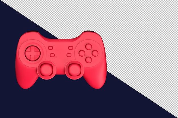 Ilustração 3d do gamepad sem fio