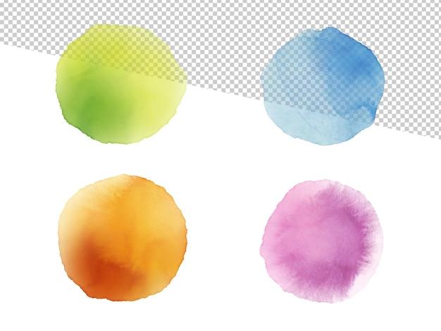 Ilustração colorida da aquarela do fundo abstrato.