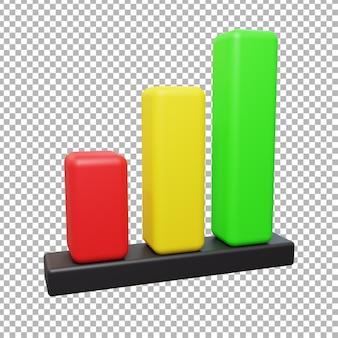 Ilustração de design gráfico 3d