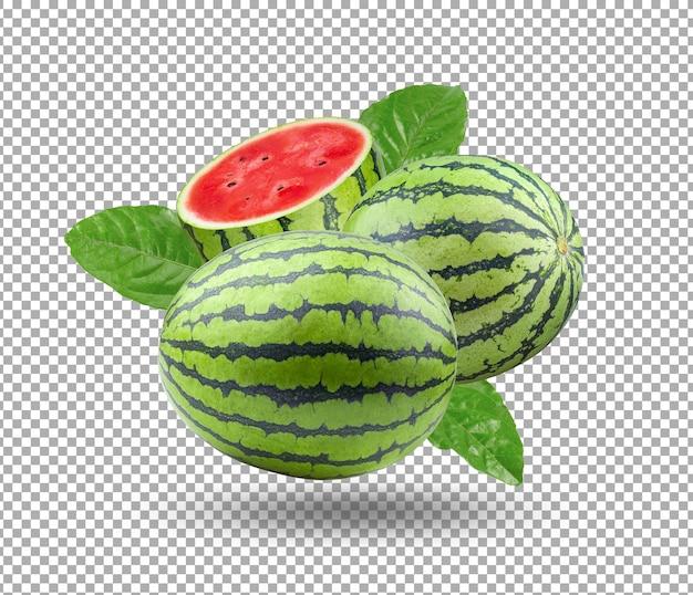 Ilustração de melancia isolada