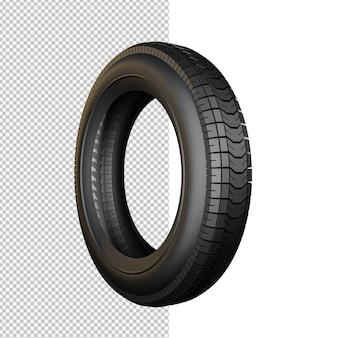 Ilustração de pneu isolado