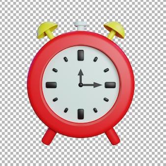 Ilustração do relógio 3d