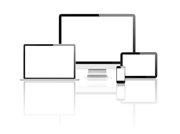 Imagem tridimensional de dispositivos digitais