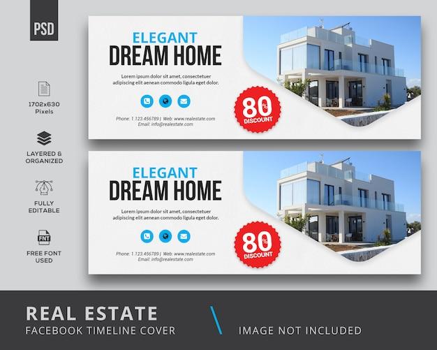 Imobiliária capa para facebook