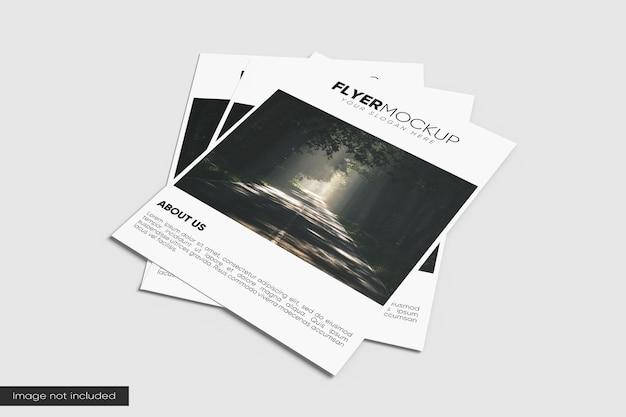 Impressionante maquete de panfleto a4