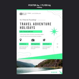Imprimir modelo de férias com foto