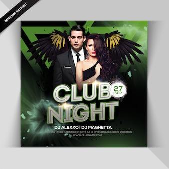 Insecto da festa da noite do clube